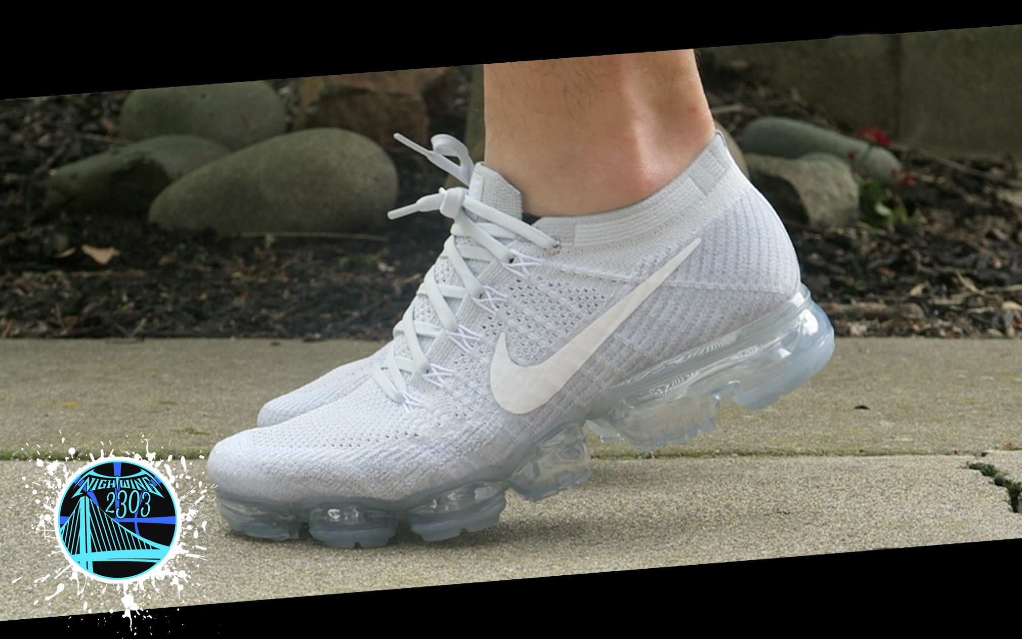 Cheap Nike air vapormax flyknit cdg comme des garcons us 7.5 uk 6.5