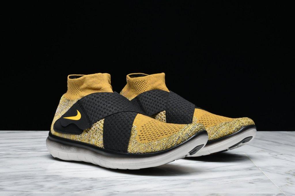 Nike Herren Sale Free RN Motion Flyknit 2018 Schwarz