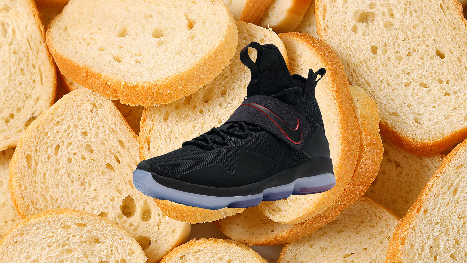 new style ceaad 41ca2 The Nike LeBron 14 in Bred is Available Now - WearTesters