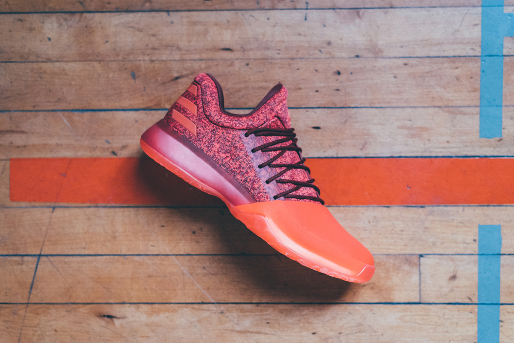 The adidas Harden Vol. 1 'Red Glare' is