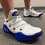 The adidas Crazy Explosive Low Gets Kansas Jayhawks PEs