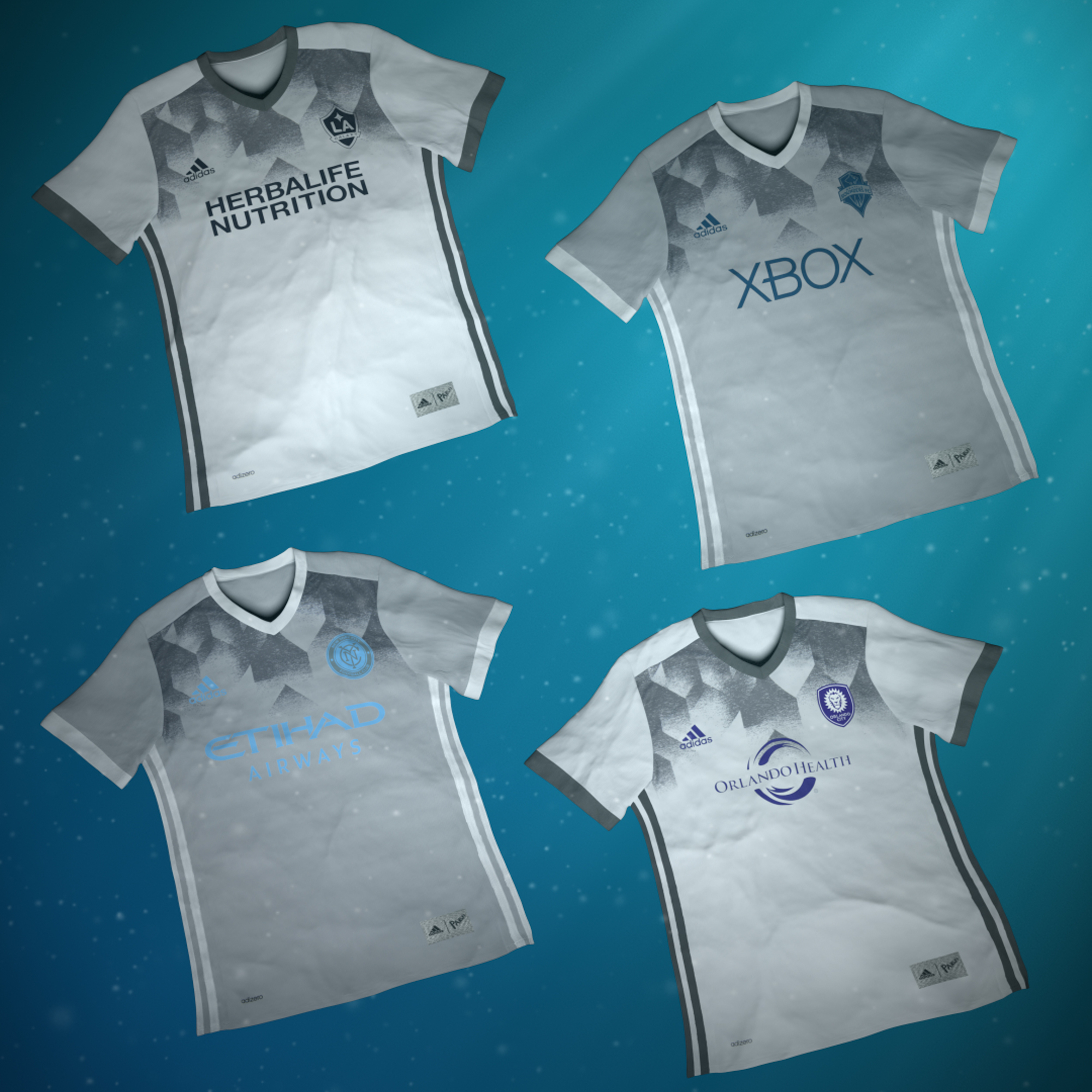 Adidas shirt design your own - Adidas Major League Soccer Parley For The Oceans Mls Club Jerseys 7