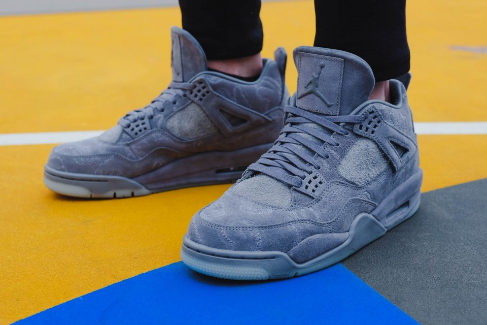 reputable site ce5ac 7f1d1 The Kaws x Air Jordan 4 Will Release Online - WearTesters
