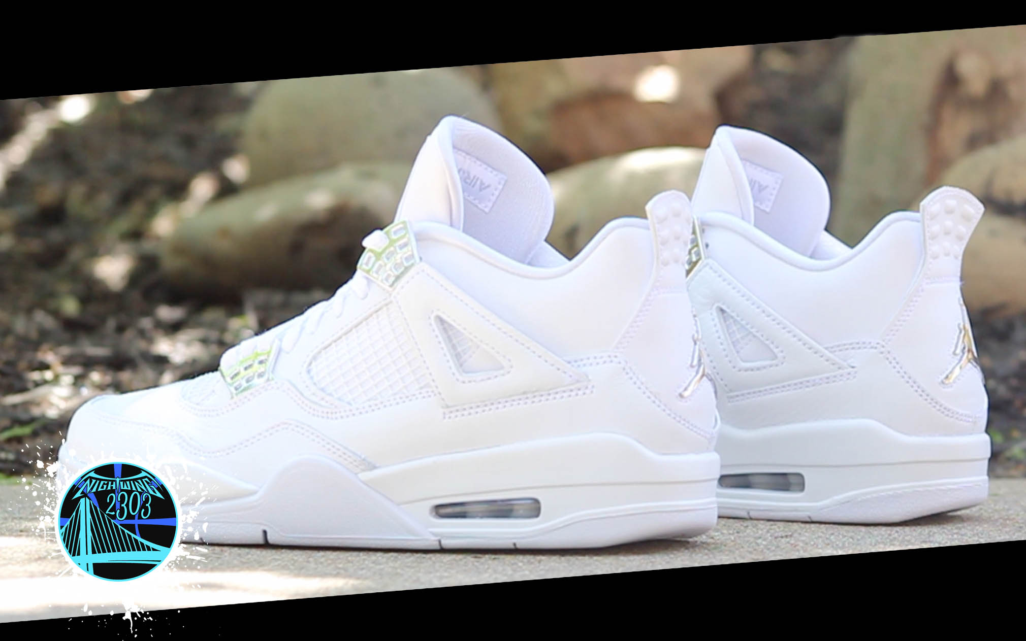 air jordan 4 retro 39 pure money 39 detailed look and review. Black Bedroom Furniture Sets. Home Design Ideas