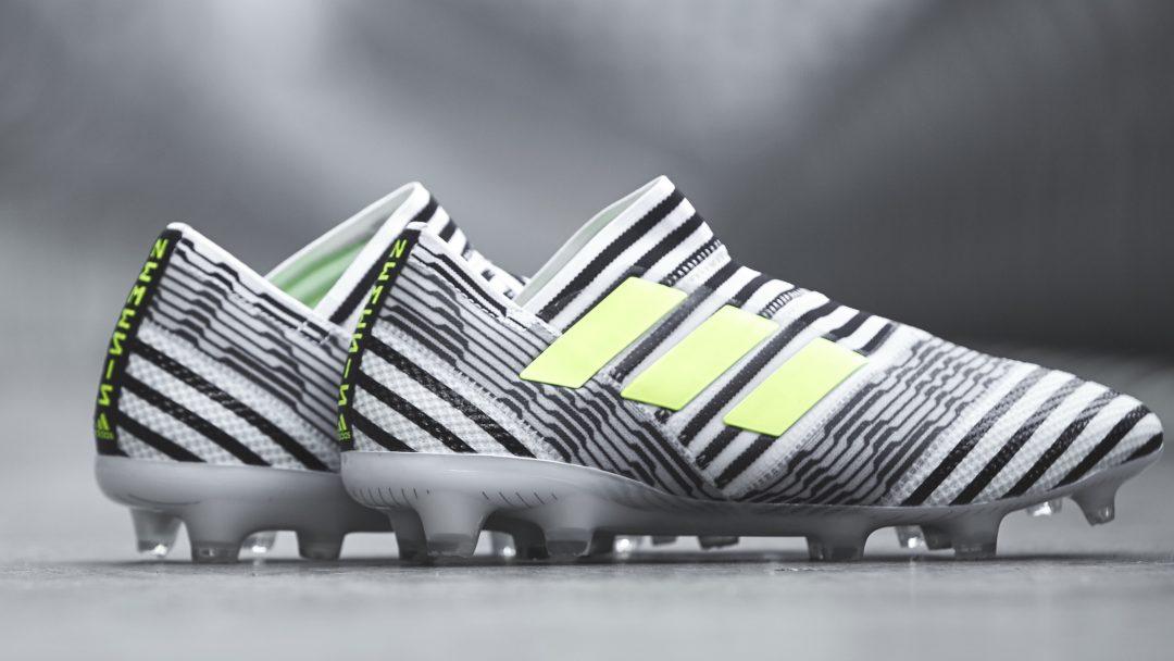 adidas Launches Nemeziz Soccer Cleat for Stars Leo Messi, Renato Sanches, and Roberto Firmino ...