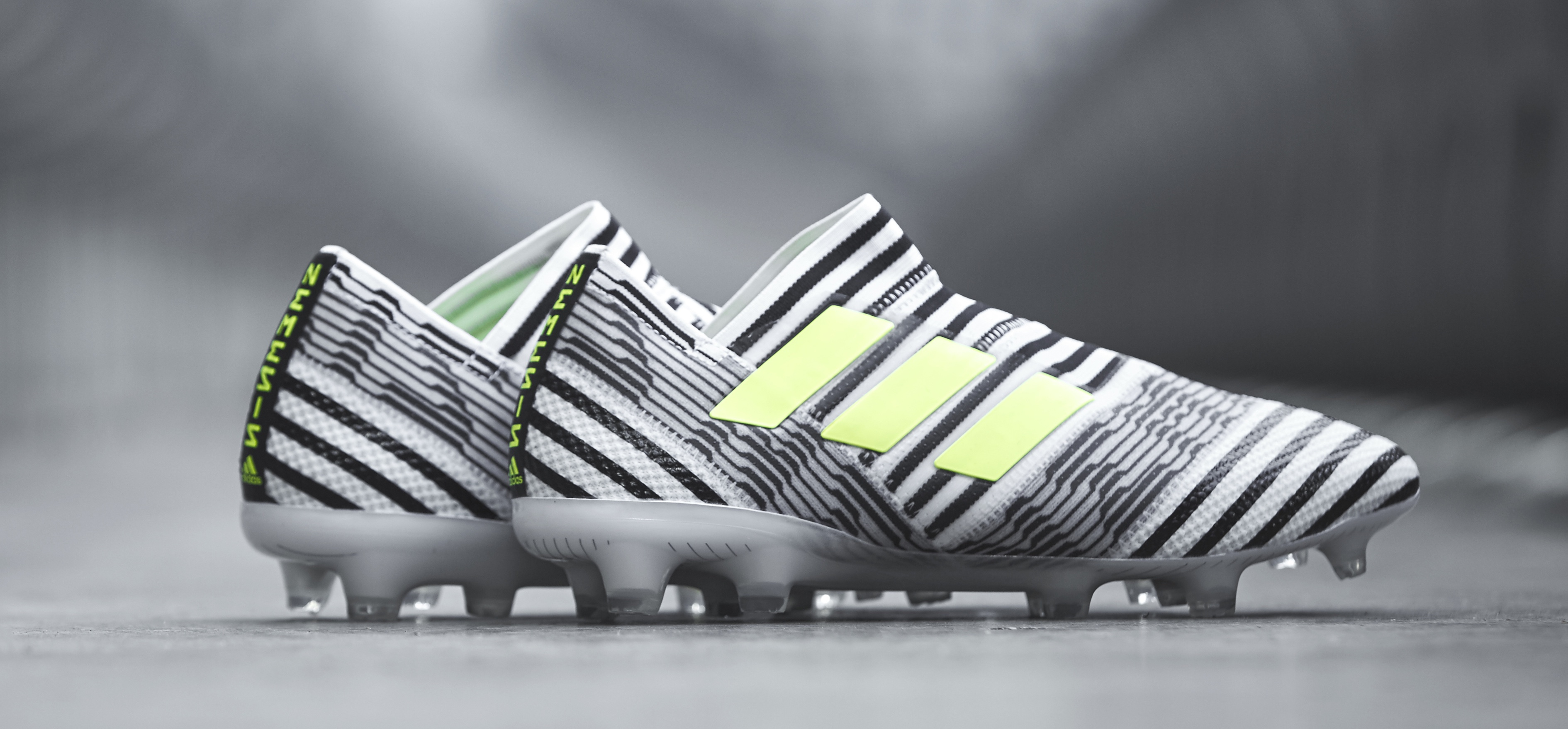 adidas Nemeziz black and white 1
