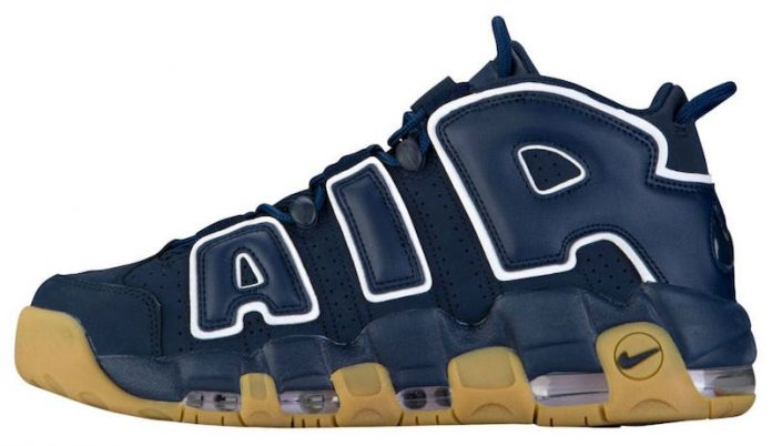 Nike Air More Uptempo Blue Gum Shoes