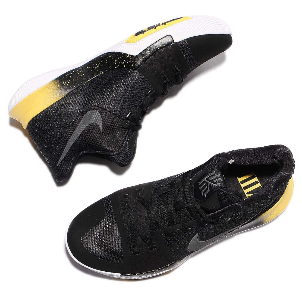 wholesale dealer 64faf 1a4aa The Nike Kyrie 3 Black/Yellow Available Early - WearTesters