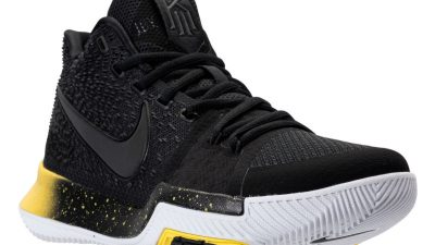 The Nike Kyrie 3 Arrives in Black \u0026 Yellow