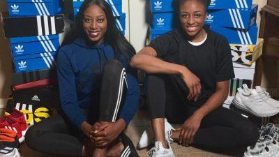 adidas basketball Ogwumike Sisters