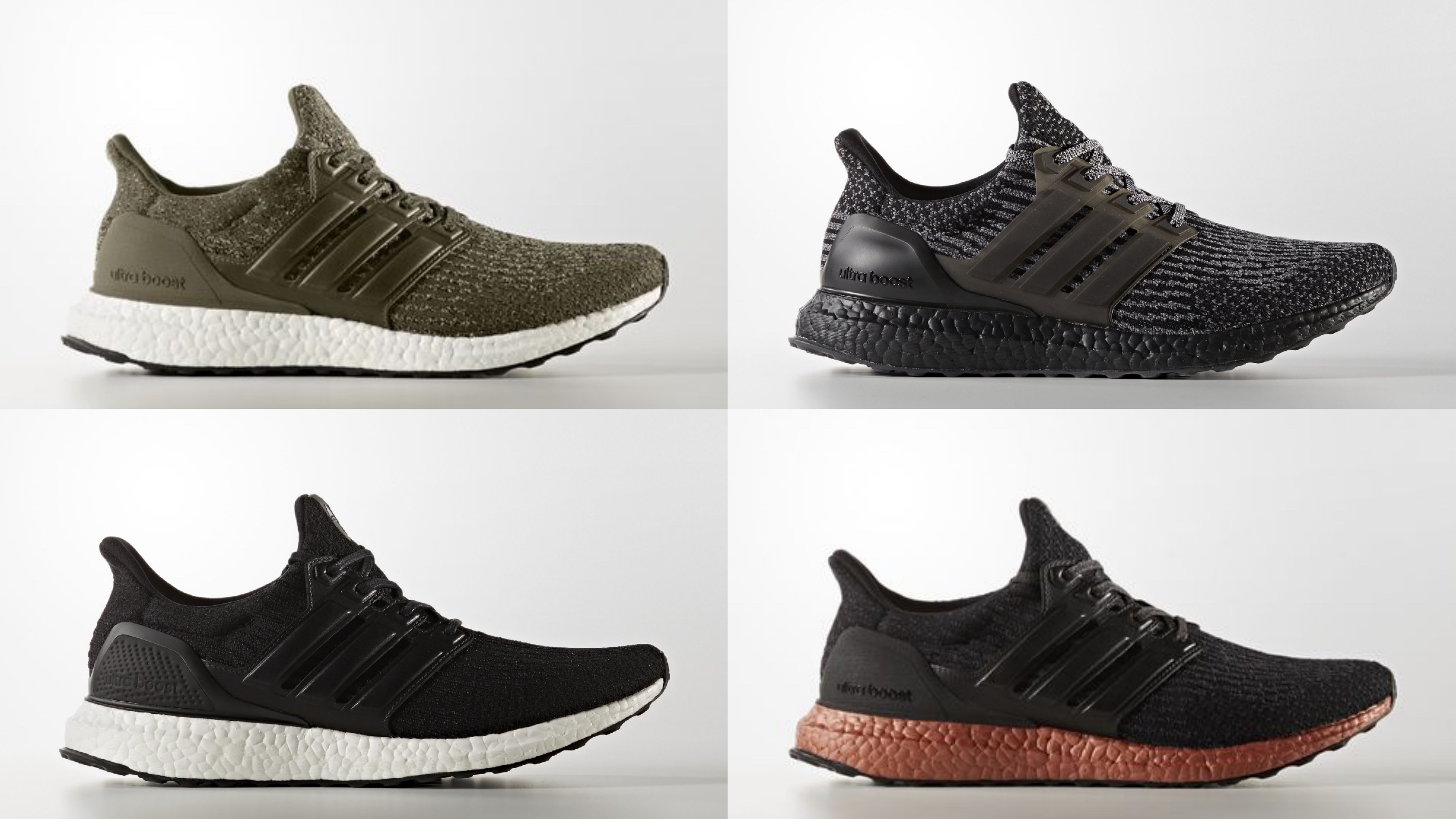 Adidas Ultra Boost 3.0 Trace Cargo Green LTD (#1112042) from
