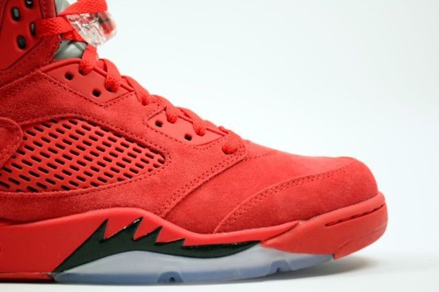 best cheap c2747 0d4a2 A Red Suede Air Jordan 5 Retro May Be Dropping Soon ...