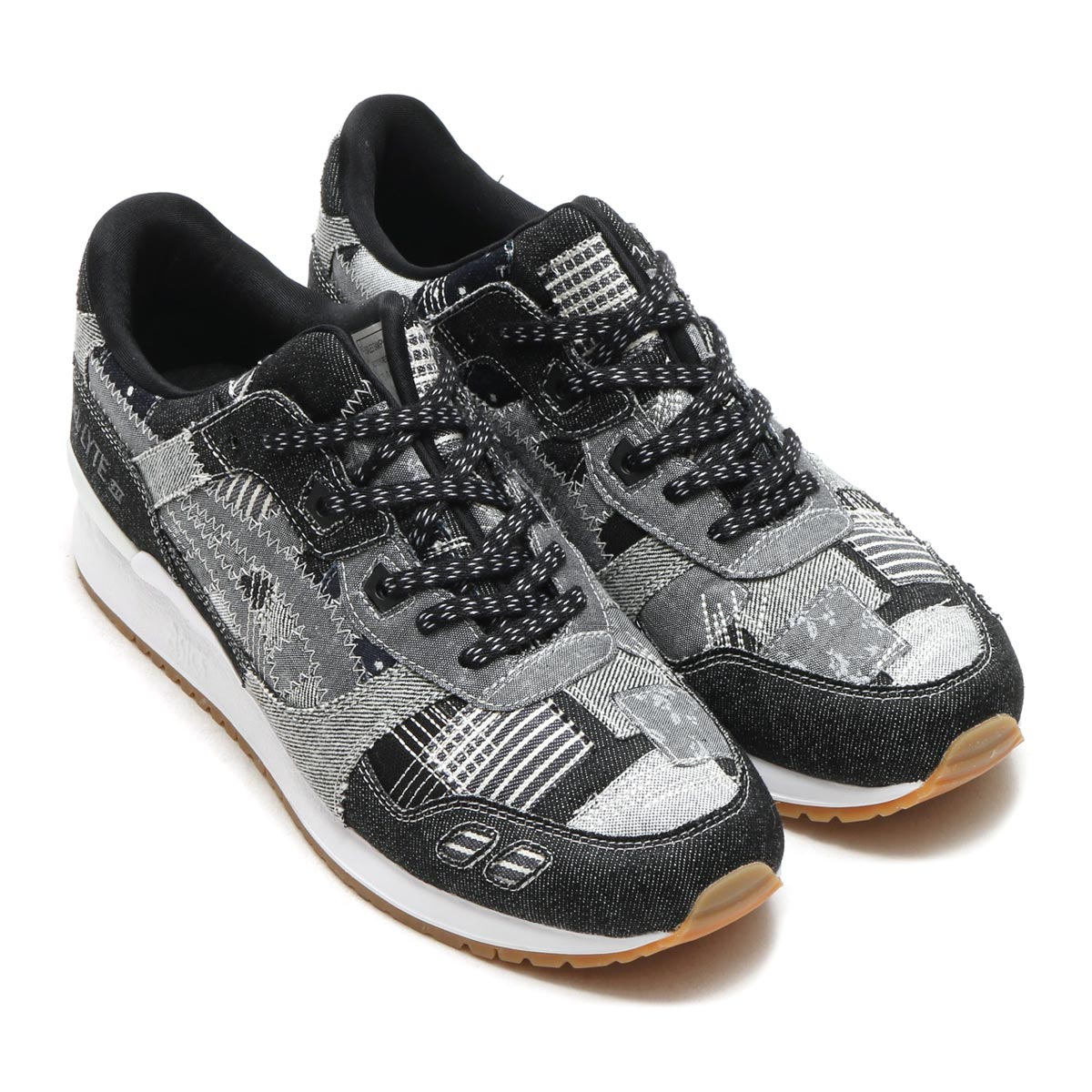 best loved 6d0f0 f5a66 The Asics Tiger Gel-Lyte III Ranru Pack is a True Patchwork ...