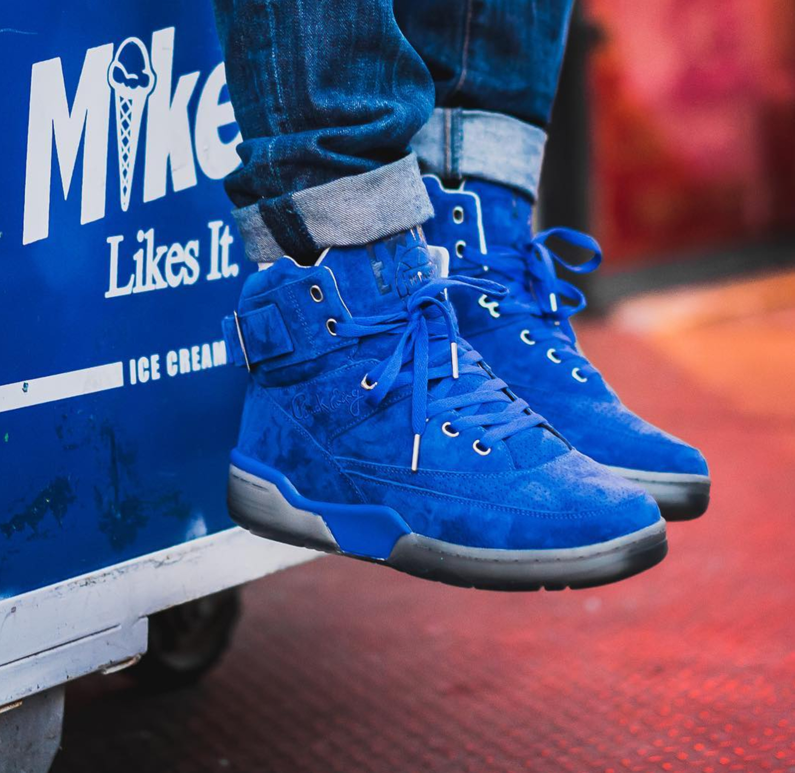 Ewing Athletics Teases a Blue Suede