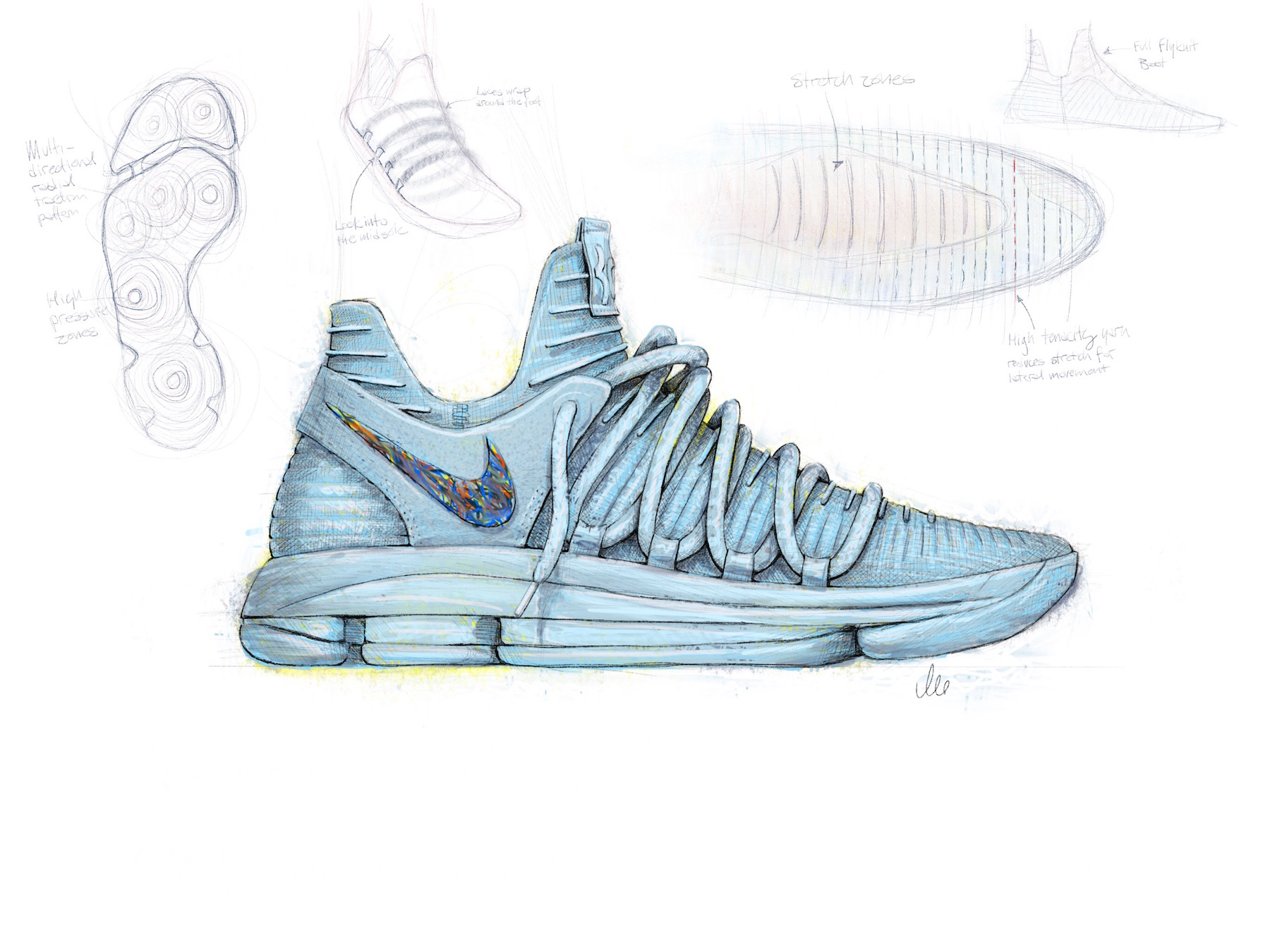 Nike Basketball Shoe Designer