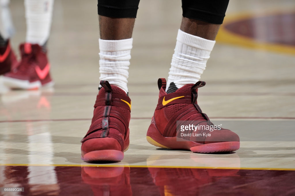 promo code 7f0be 3e85c nike lebron soldier 11 suede lebron james 1 - WearTesters