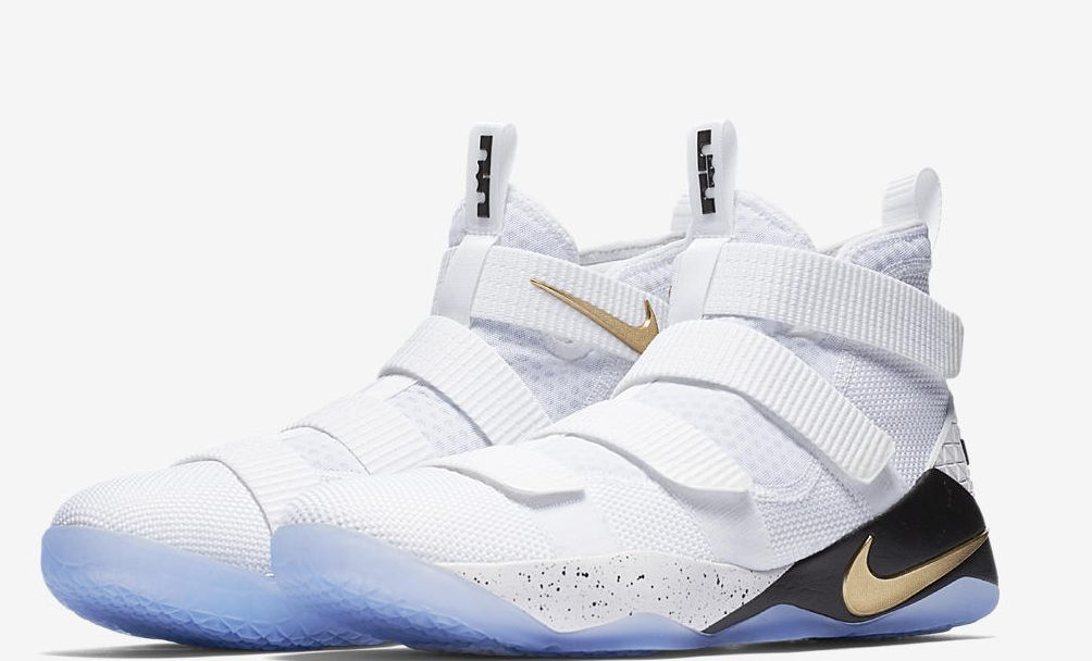 The Nike LeBron Soldier 11 'White/Metallic Gold' is Almost Here - WearTesters