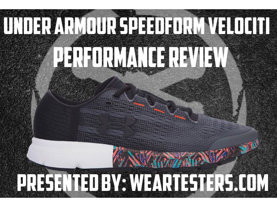 the latest 91229 9376a Under Armour SpeedForm Velociti Record Performance Review ...
