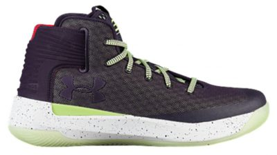 under armour curry 3ZER0 imperial purple 1
