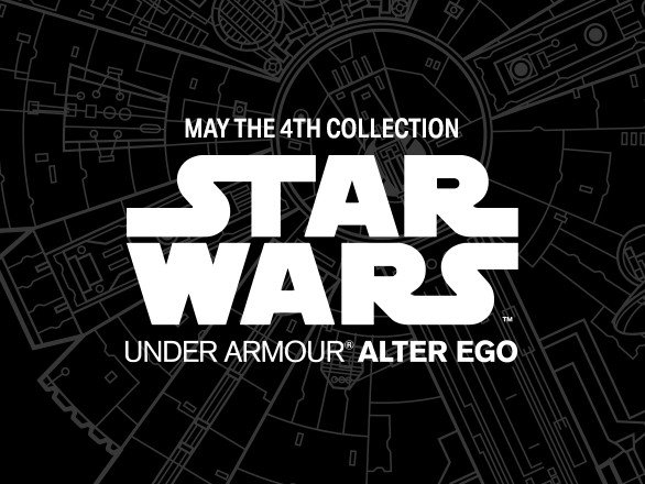 Under Armour Has You Covered With Star Wars Gear – May the Fourth Be ...