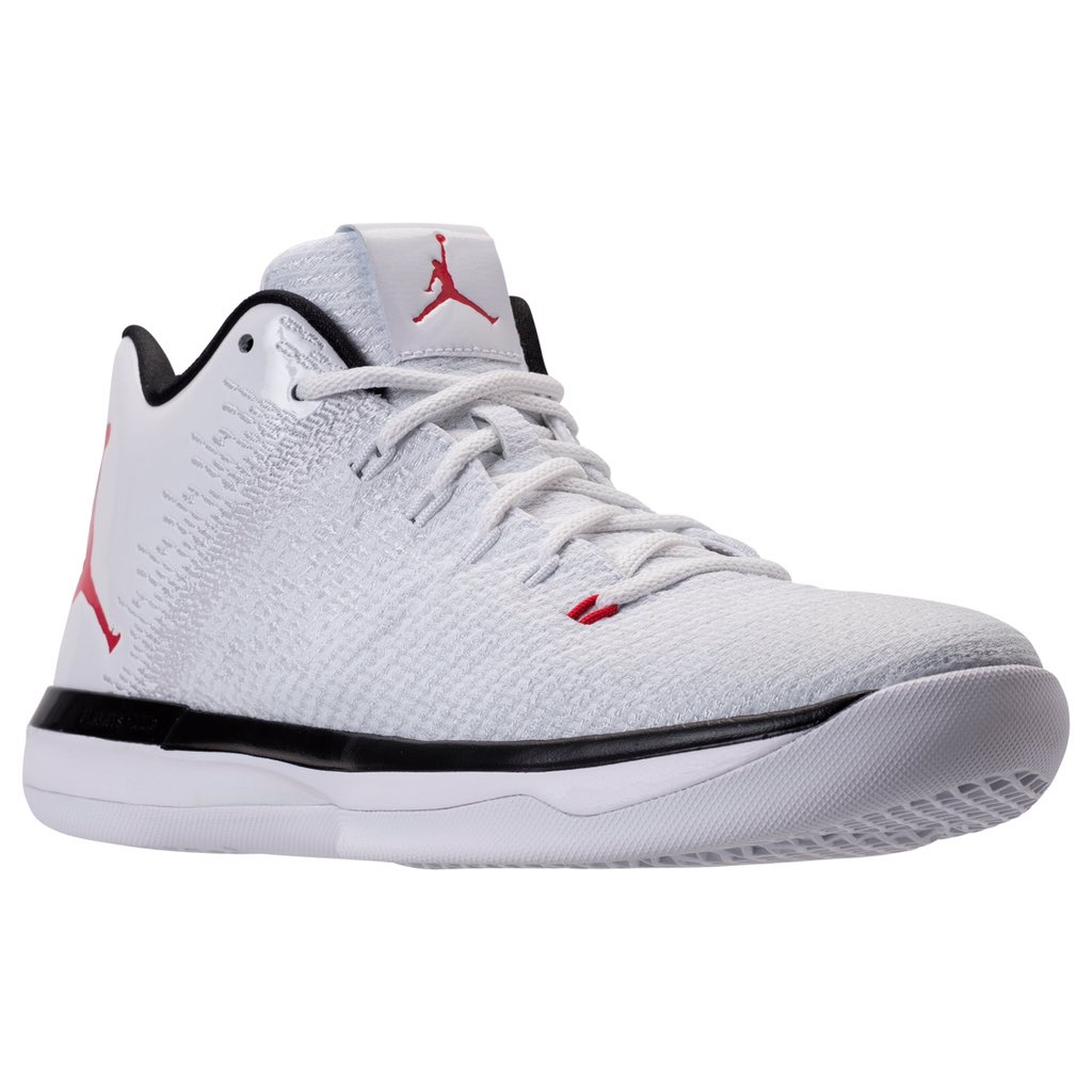 buy online 3dbb5 09b38 The Air Jordan 31 Low in White/Red Releases at the End of ...