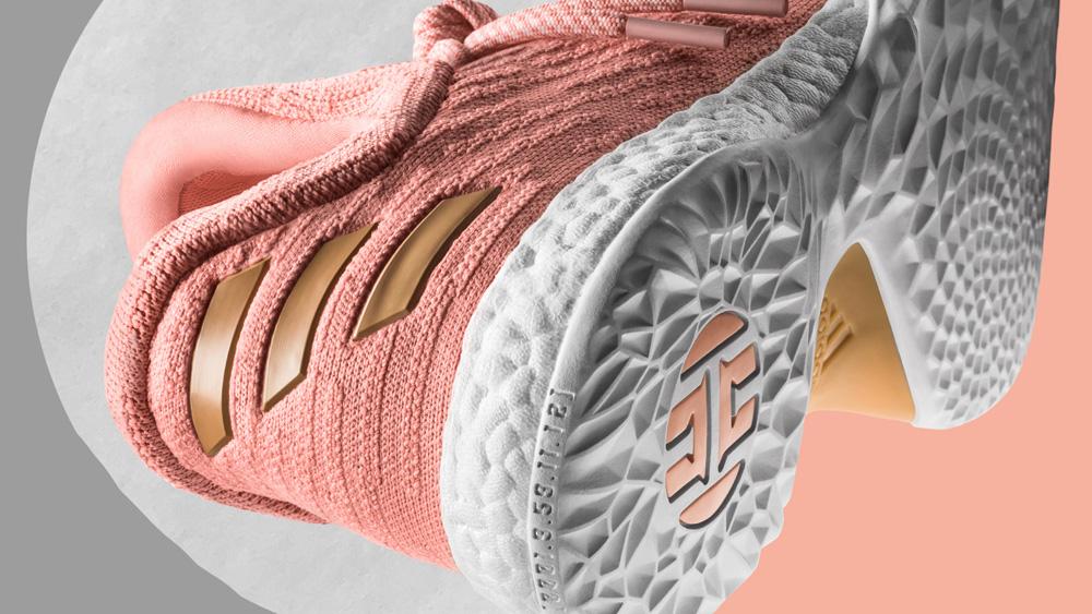 Adidas Se Endurecen Ls Rosa 55jyt