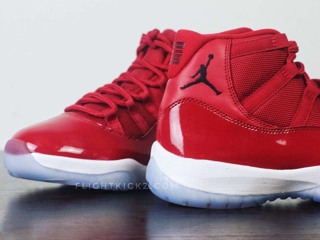 new styles e20bc ef281 A Detailed Look at the Upcoming Air Jordan XI 'Gym Red ...