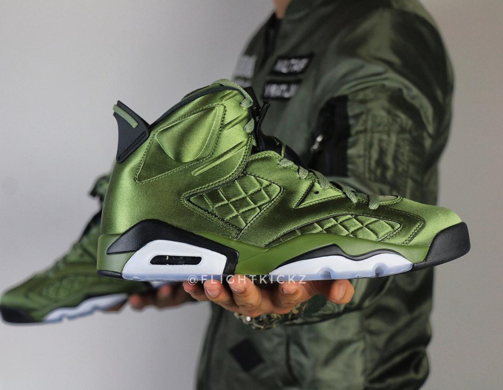 buy online the best attitude utterly stylish The Air Jordan 6 Pinnacle 'Flight Jacket' May Be the ...