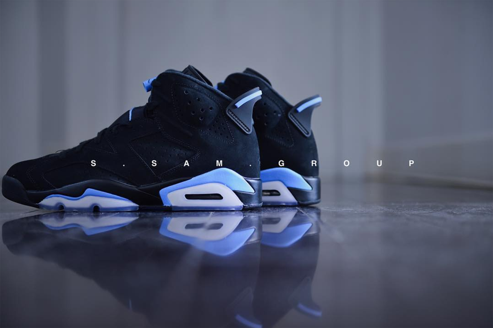 online retailer ab491 73ad1 Get Up Close and Personal with the Air Jordan 6 Retro 'UNC ...