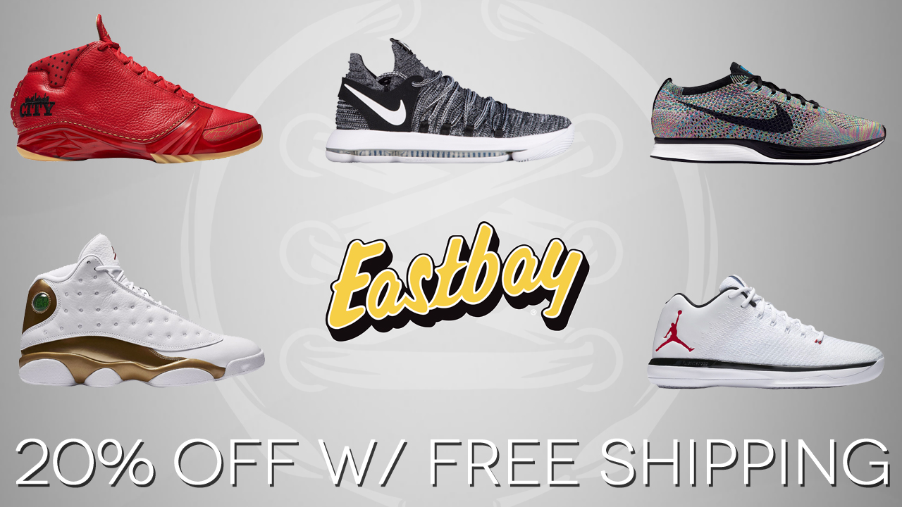 There are 6 Eastbay discount codes for you to consider including 2 coupon codes, and 4 sales. Most popular now: Outlet - Up to 80% Off Eastbay Sale. Latest offer: Outlet - Up to 80% Off Eastbay Sale%().