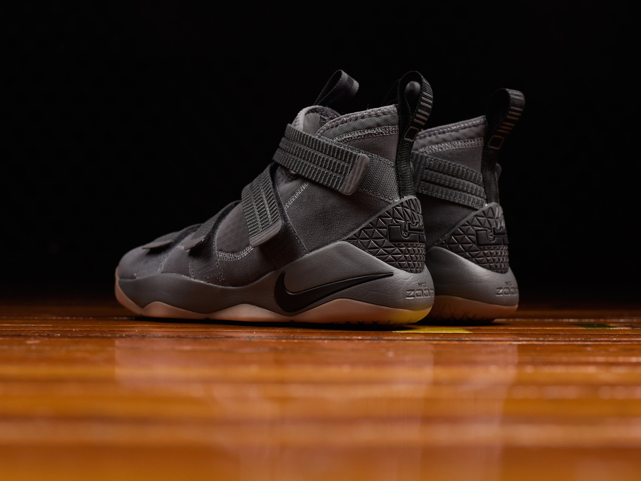 buy popular e0b2a 93bc1 The Nike LeBron Soldier 11 has Dropped in 'Grey Gum ...
