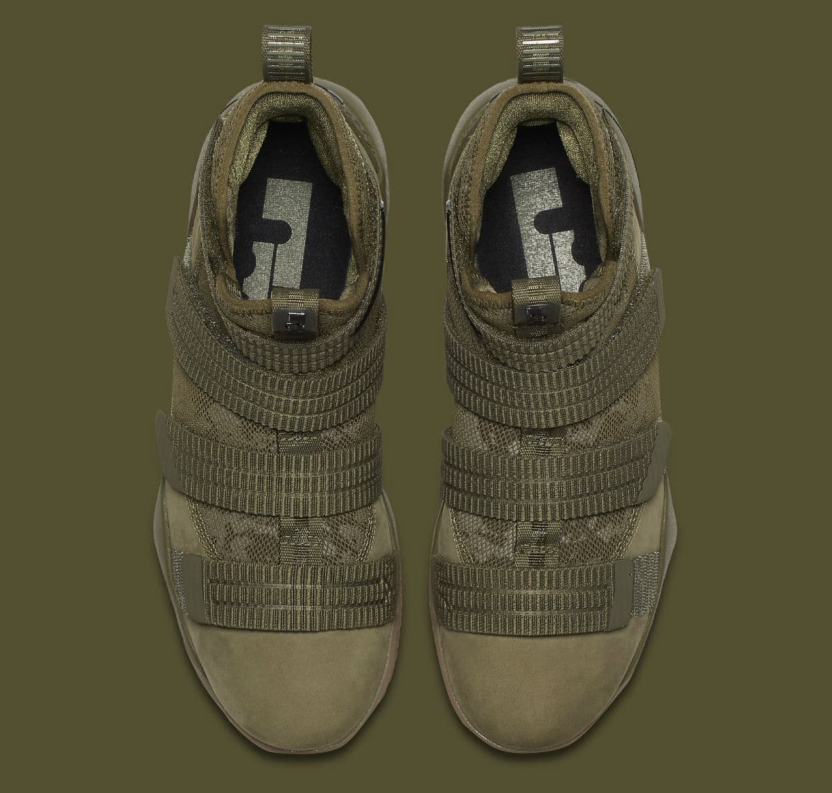 best sneakers 8c9cf 6c713 The Nike LeBron Soldier 11 Gets an 'Olive' Makeover ...
