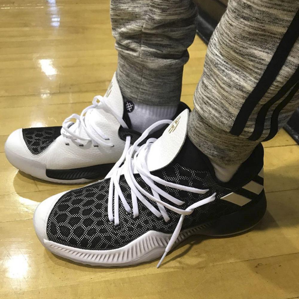 adidas harden on feet