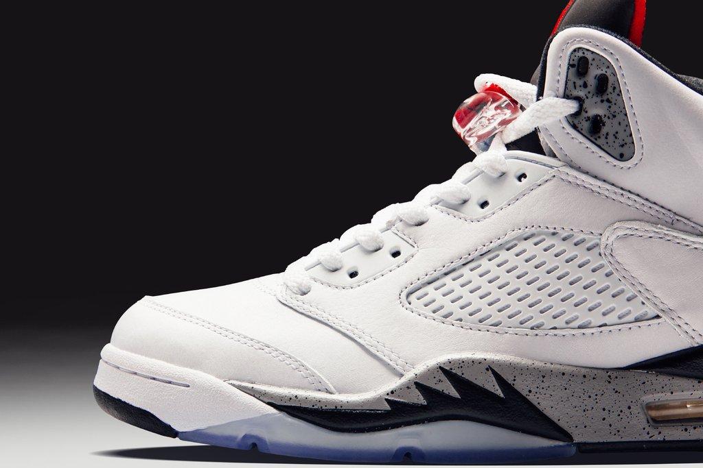 reputable site f9cad 085d7 The Air Jordan 5 Retro 'White Cement' Arrives Next Week ...