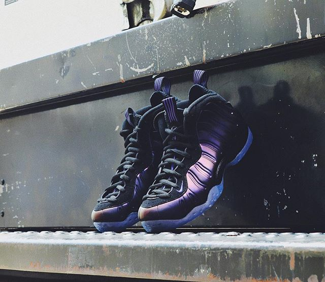 new arrivals 871ff ba15a The Nike Air Foamposite One 'Eggplant' is Available Now ...
