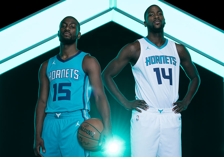 best cheap 9045e 25ae4 The Charlotte Hornets Unveil New Uniforms with the Jumpman ...