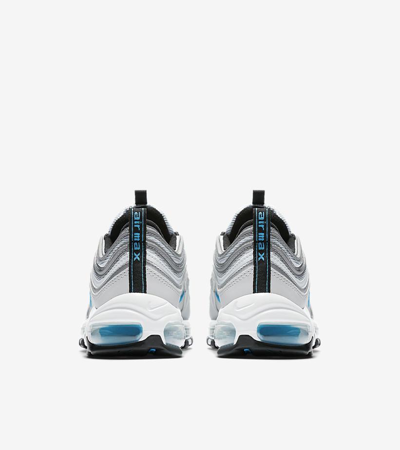 6e8f8f26e0 Nike Air Max 97 OG Junior Silver/Red Kids Compare Bluewater