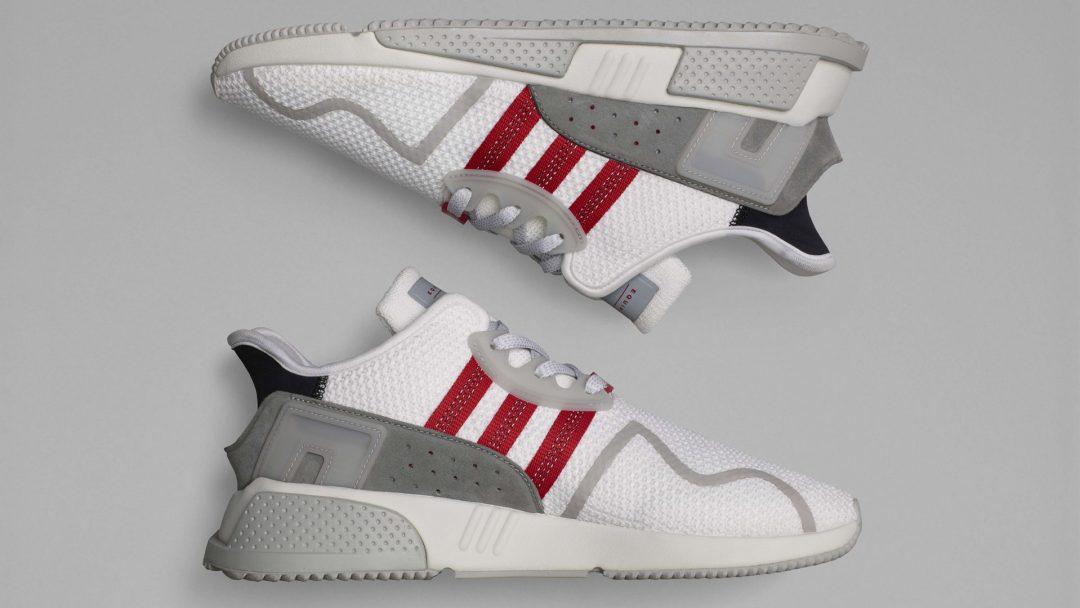 adidas eqt cushion adv white red