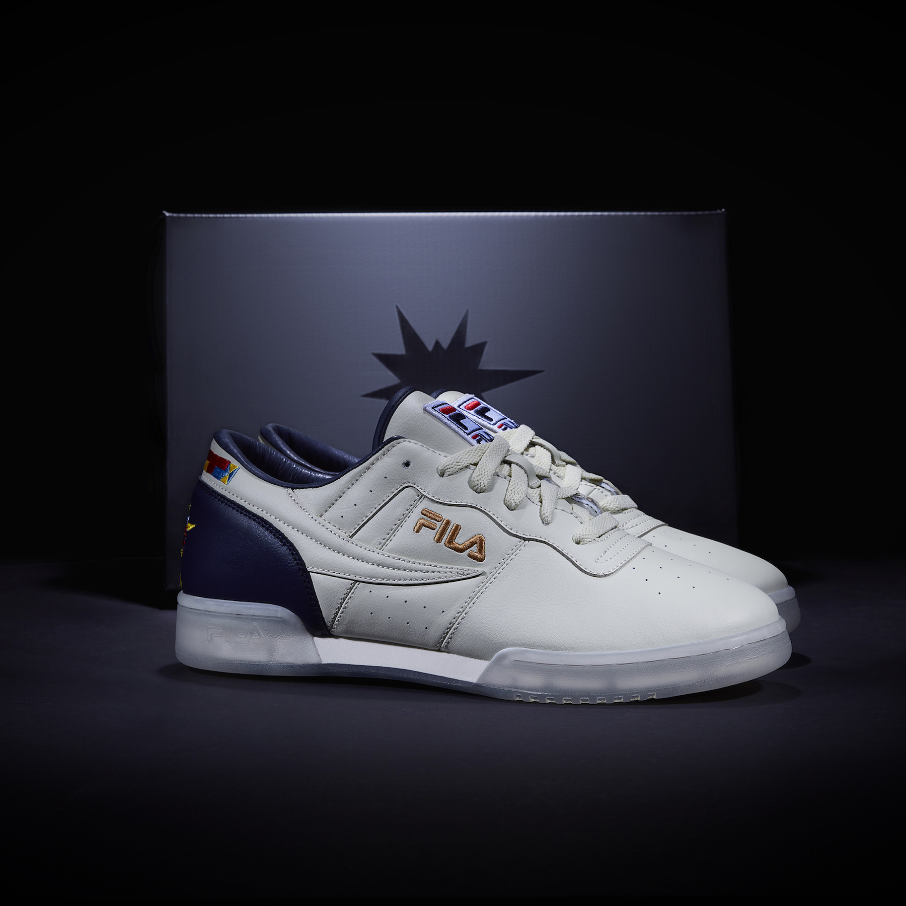 detailed look cfa2d 0ddb6 ... Fila Original Fitness Stan Lee custom 5 ...