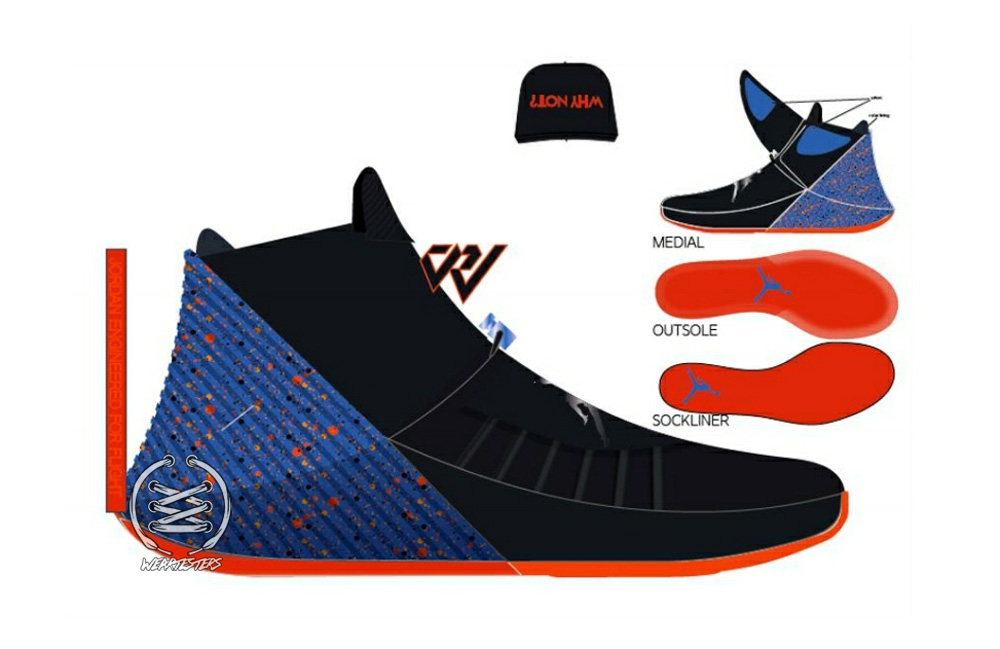 a19e8291fac Russell Westbrook's First Signature Shoe: the Jordan Why Not Zero.1 ...