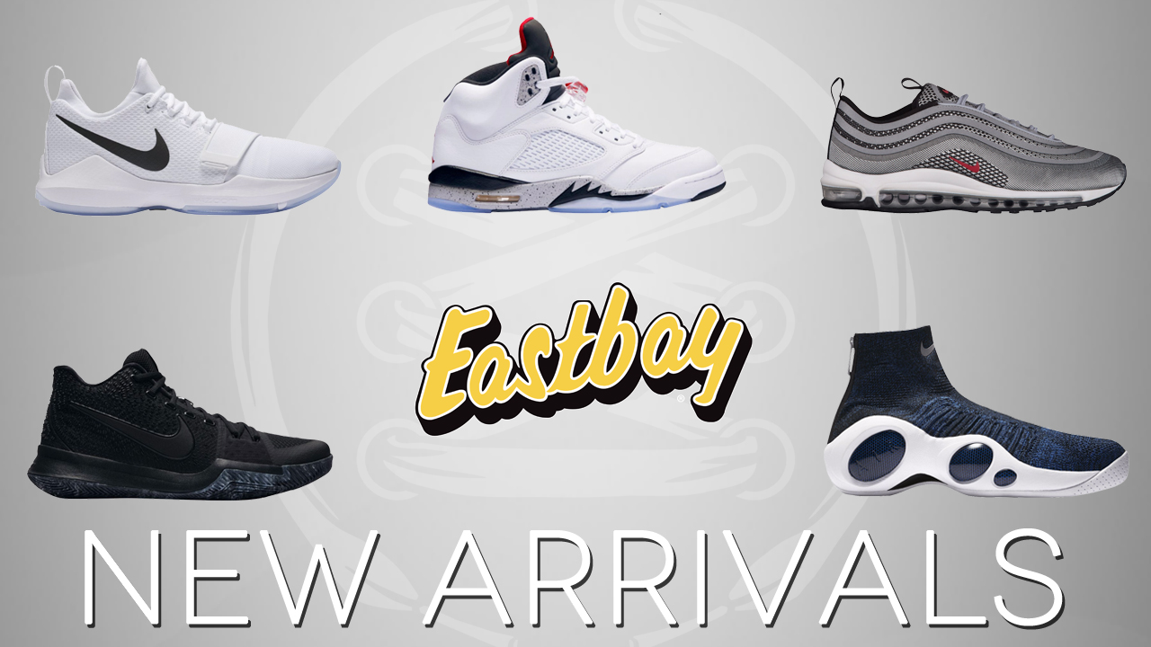 Arrivals: Jordan 5, Nike PG 1, Kyrie