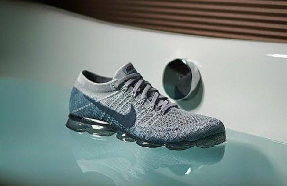 Nike Air VaporMax Grey:Teal 2