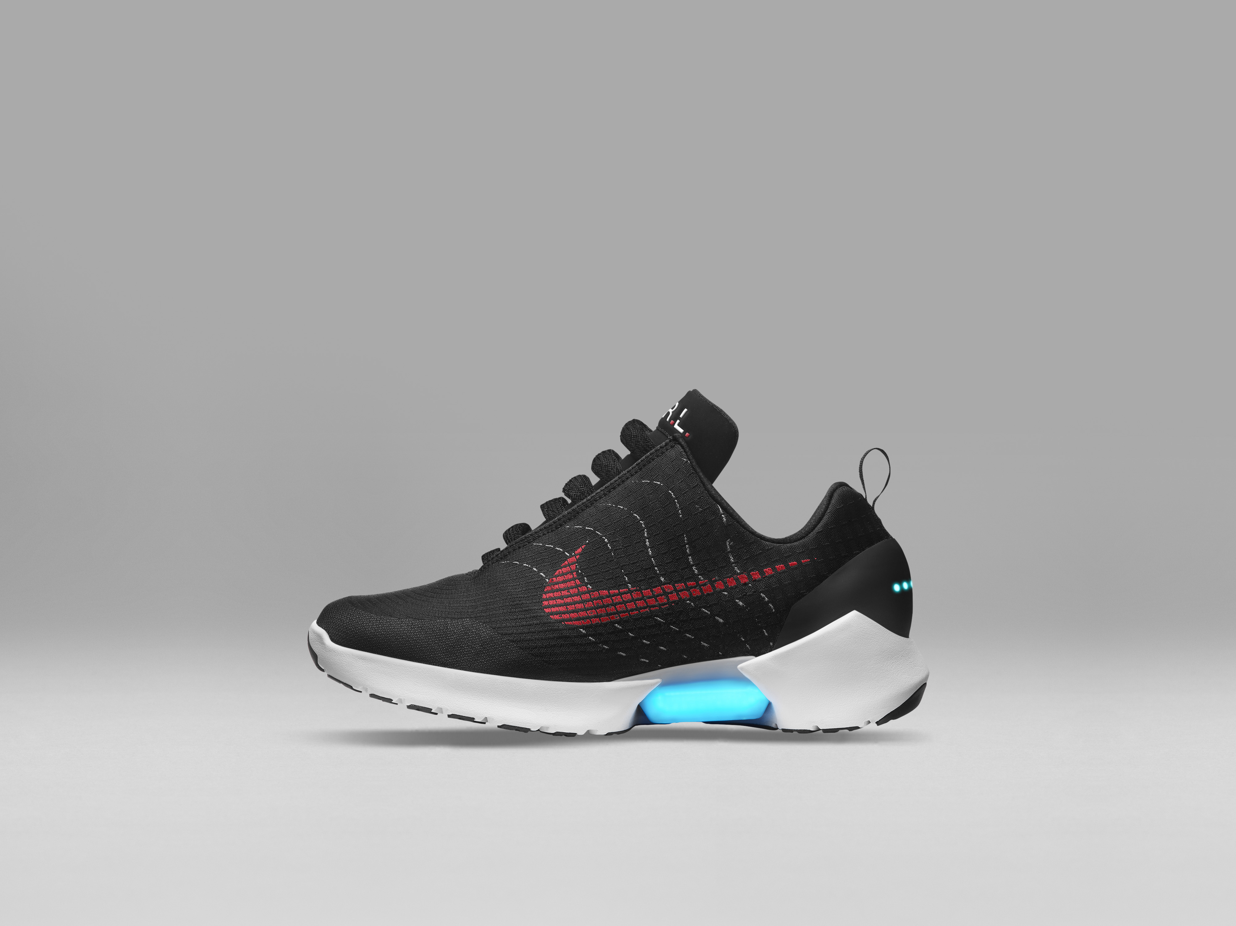 The Nike Hyperadapt 1.0 to Release in Black/White-Red ...