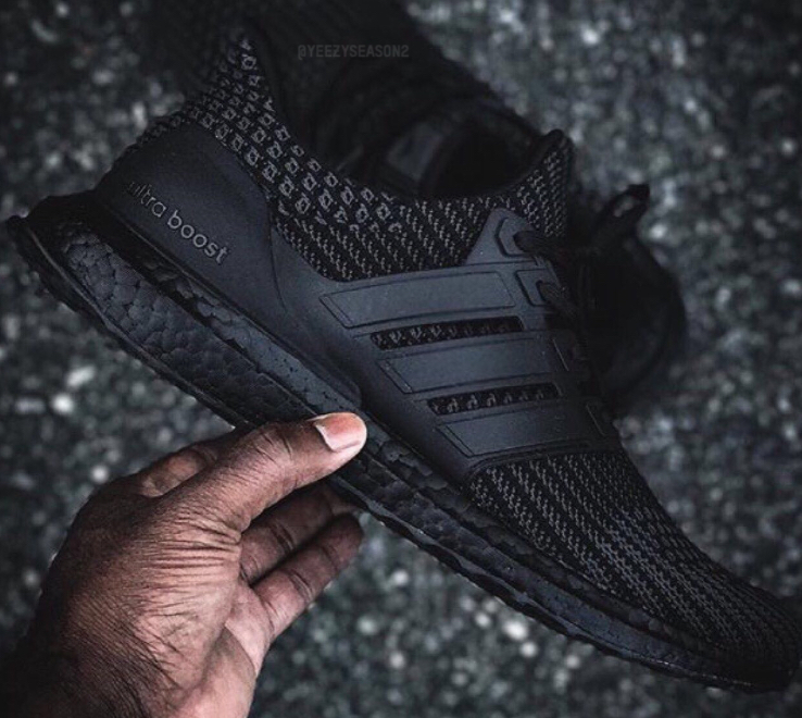 separation shoes 60bbd 7f2c9 Images of the adidas UltraBoost 4.0 'Triple Black' Appears ...