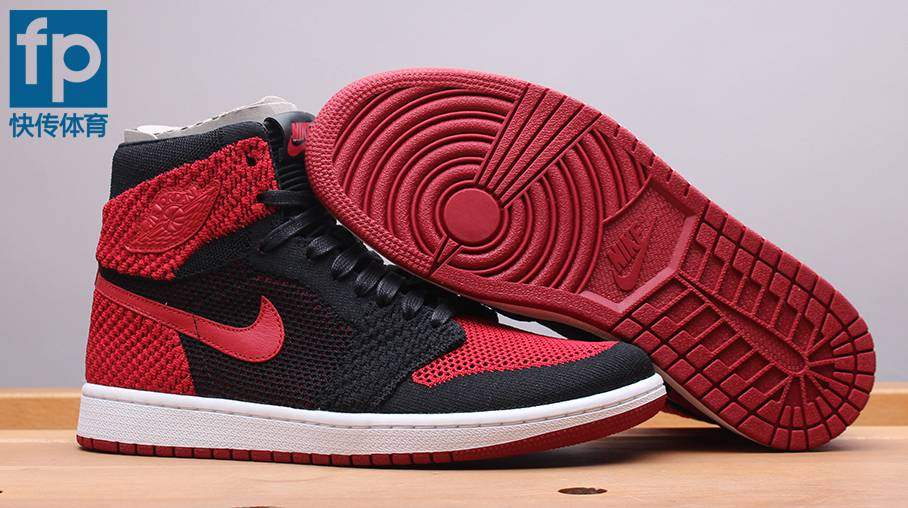 42cc4e03baf5d An In-Depth Look at the Air Jordan 1 Flyknit 'Bred' - WearTesters