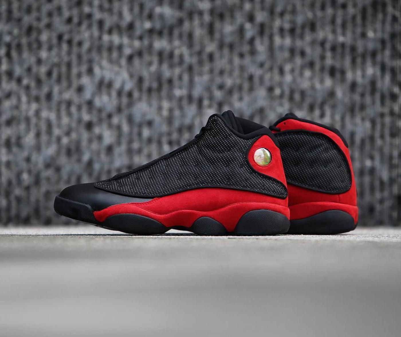 air jordan 13 retro black red 104