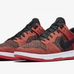 The Nike SB Dunk Low Flyknit is Coming in a 'Bred' Colorway