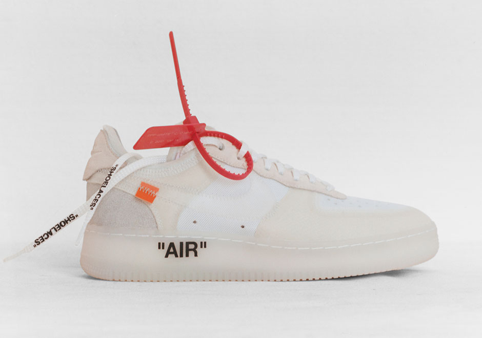air force jordan off white