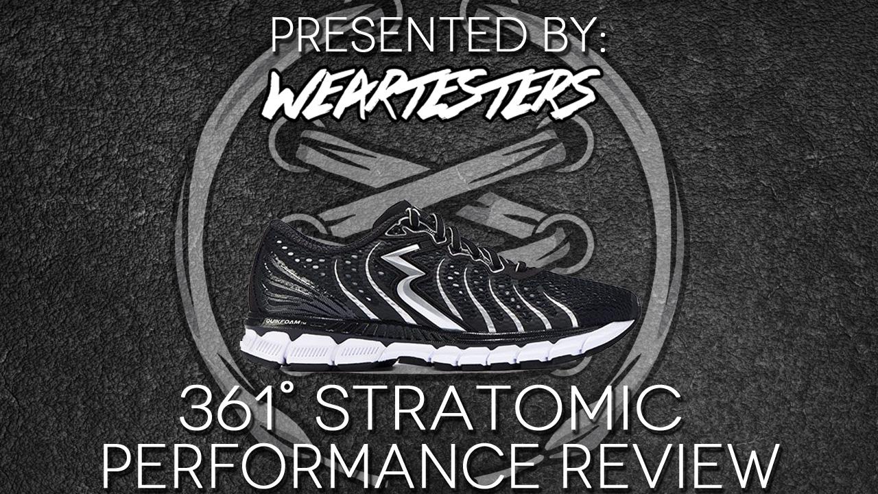 361 Degrees Stratomic Runner Performance Review