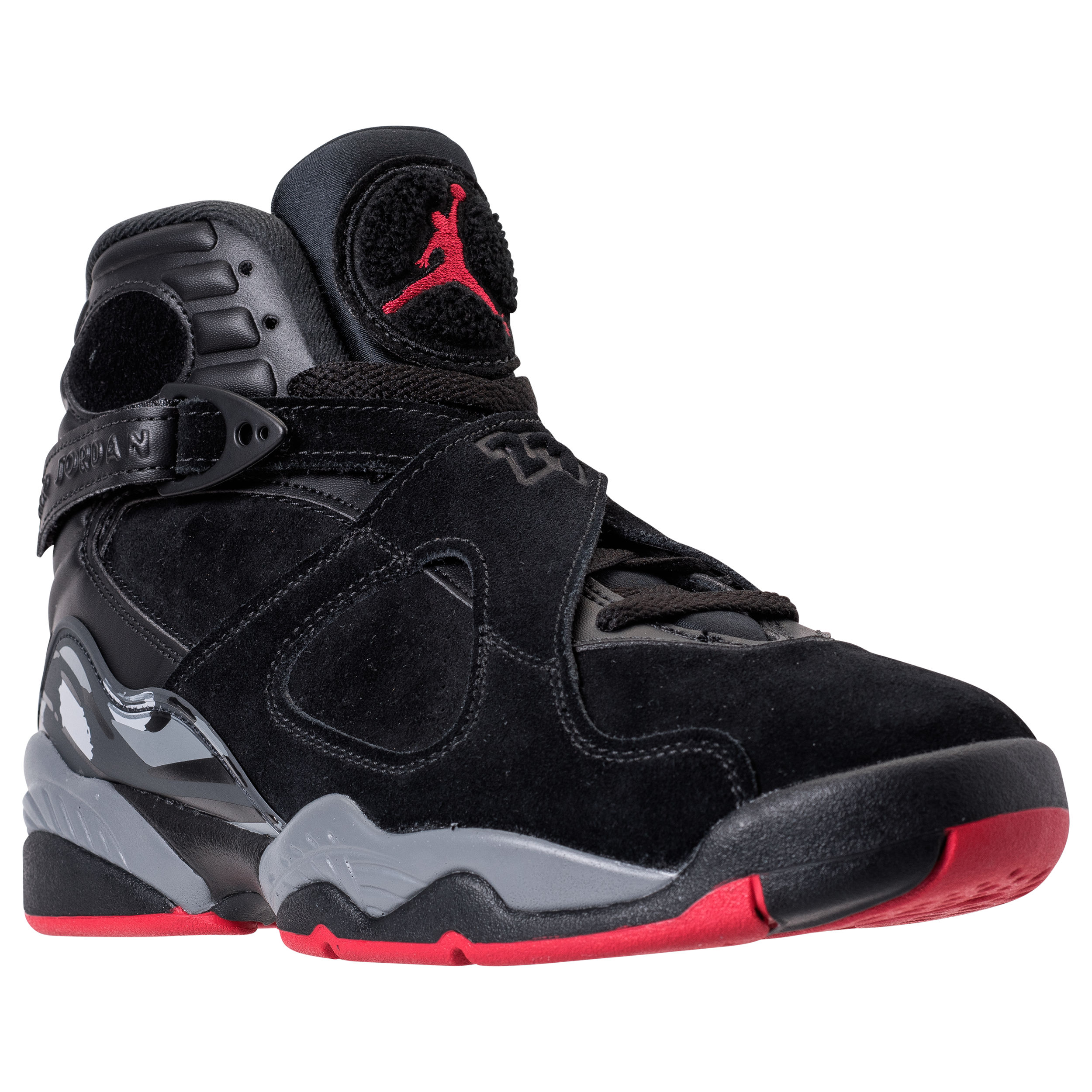 finest selection 8001f aa7c8 The Air Jordan 8 Retro in Black/Gym Red is Set to Debut ...